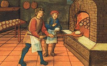 Chichibio cuoco e la gru. Novella tratta dal Decameron. 640px-Medieval_baker-b2df7f3ef402deec85fd50e88930a344