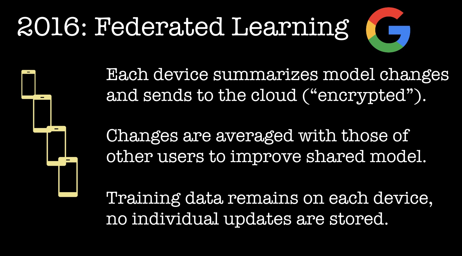 2016 Federated Learning
