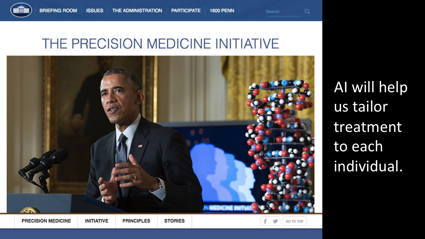 White House Precision Medicine Initiative