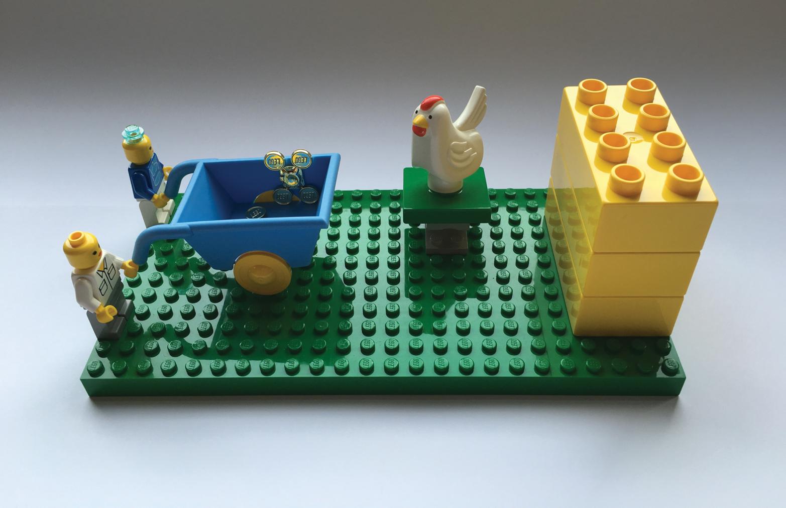 The flying chicken metaphor