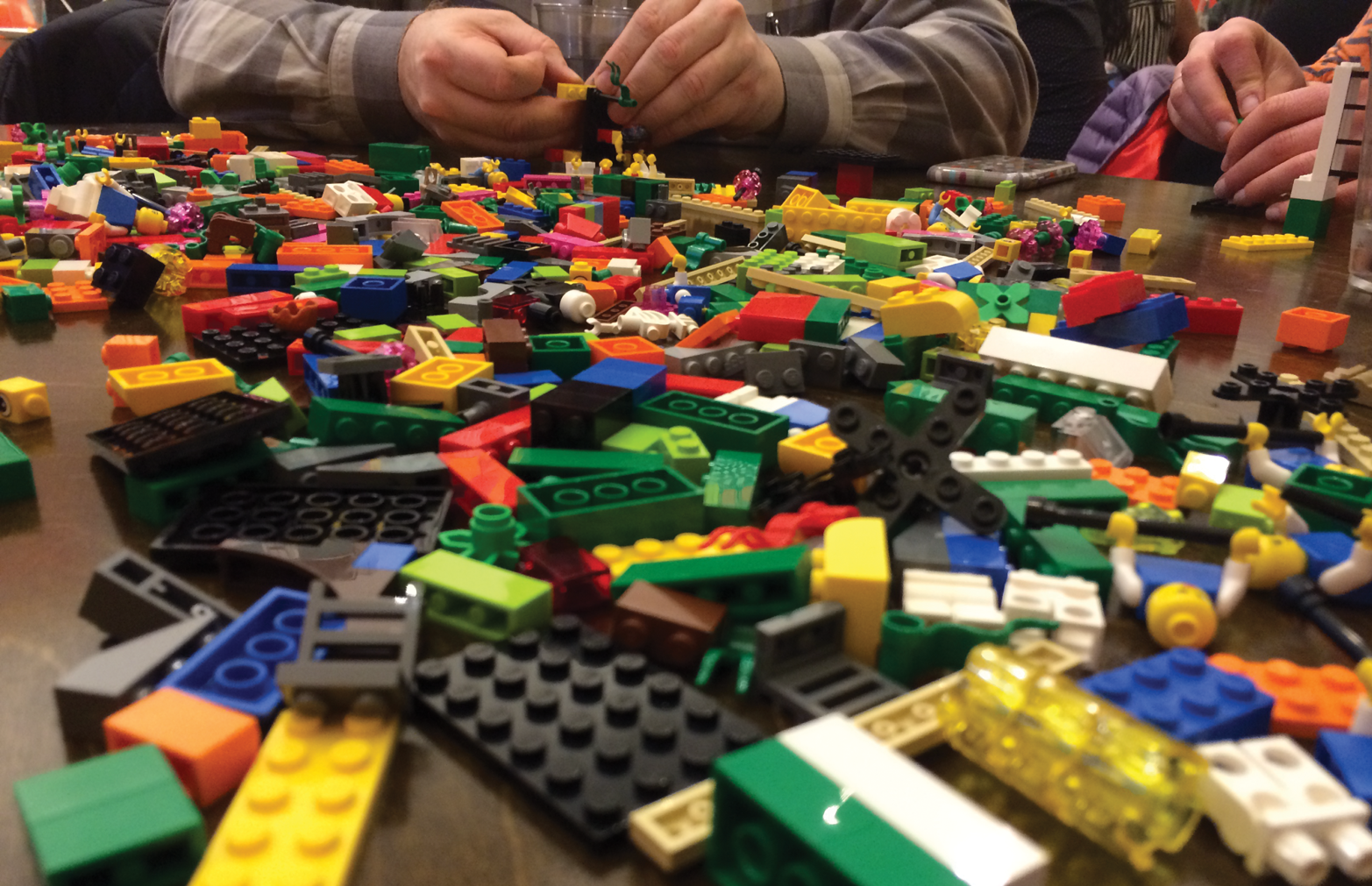 Happy Lego brick colors