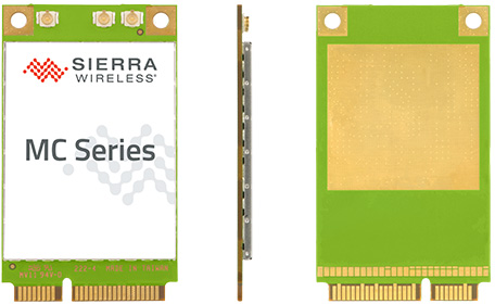 AirPrime MC Series communication module (Photo courtesy Sierra Wireless)