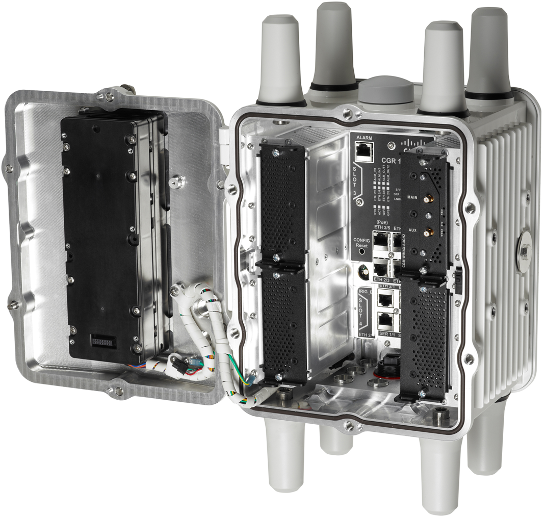 The Cisco Connected Grid Router (Photo courtesy Cisco)