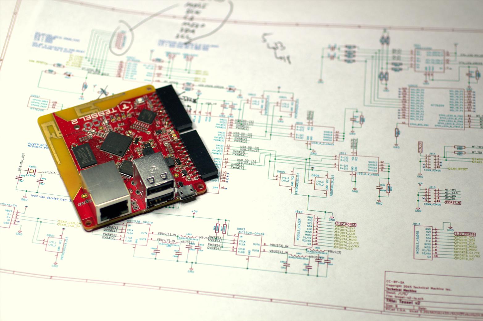 The Tessel 2 board (Photo courtesy Technical Machine)