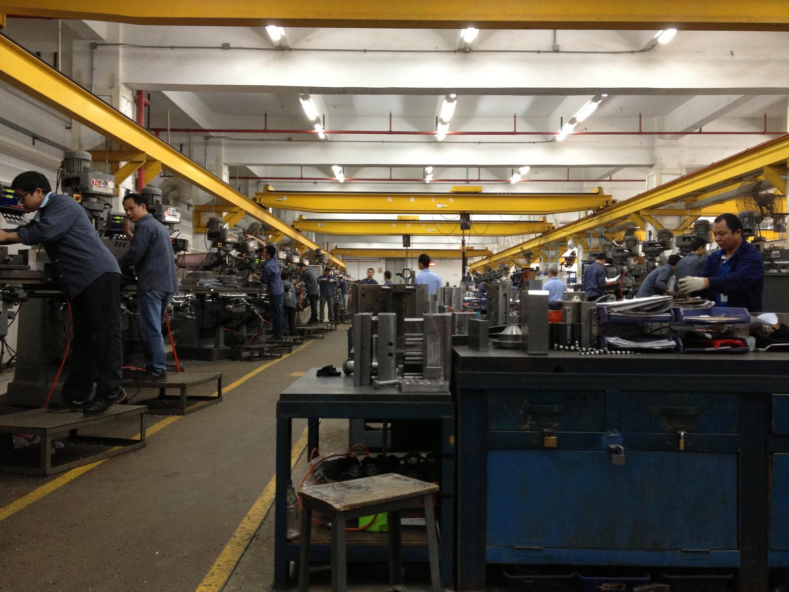 The factory floor (Photo courtesy Dragon Innovation)