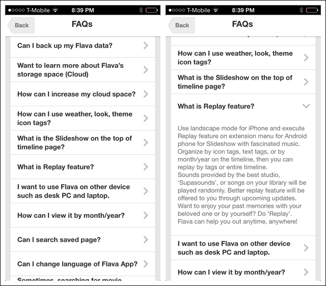 How to enhance the navigation experience on mobile devices