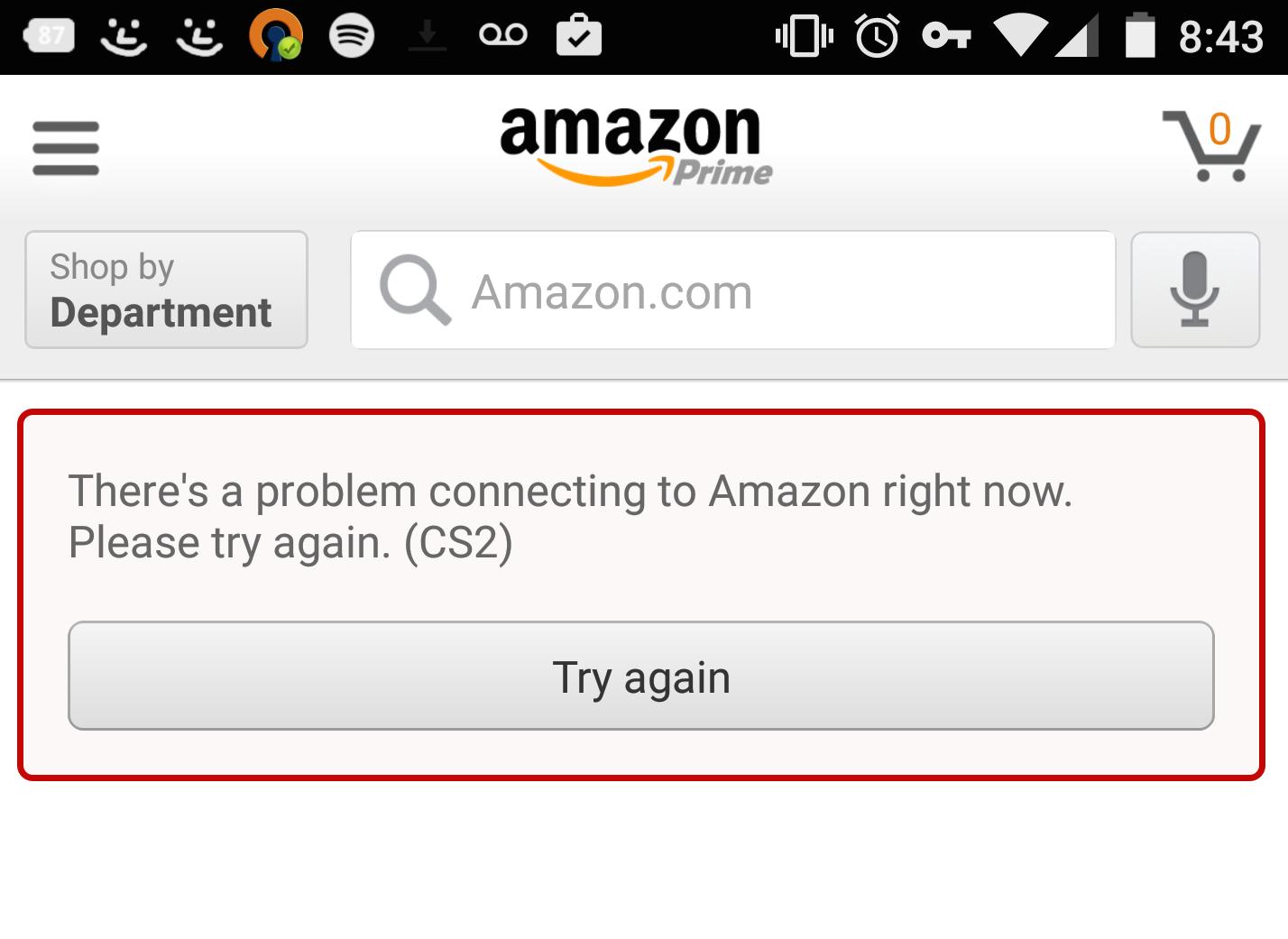 NoGoToFail Amazon screenshot
