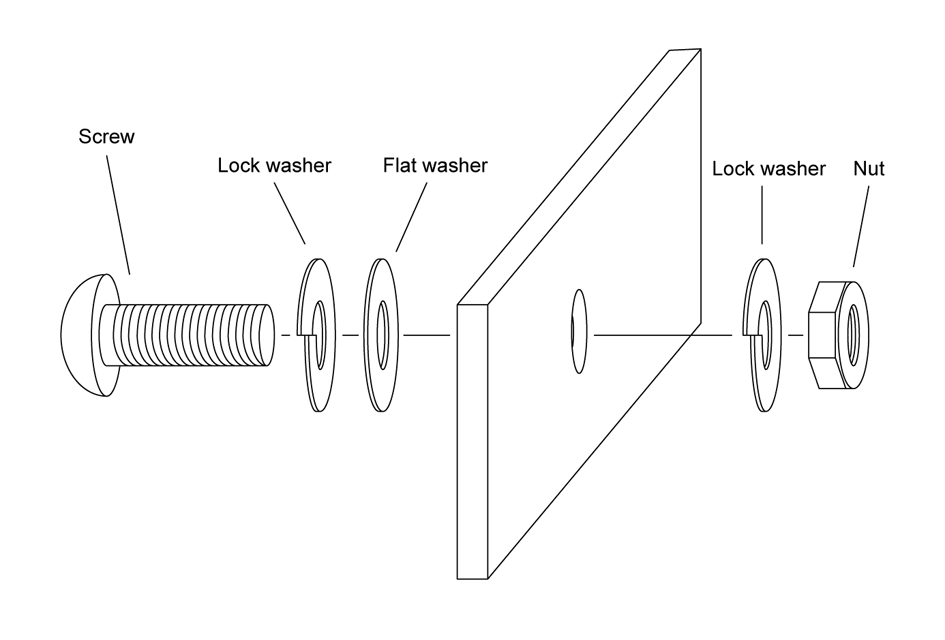 How To Use Lock Washers Diagram