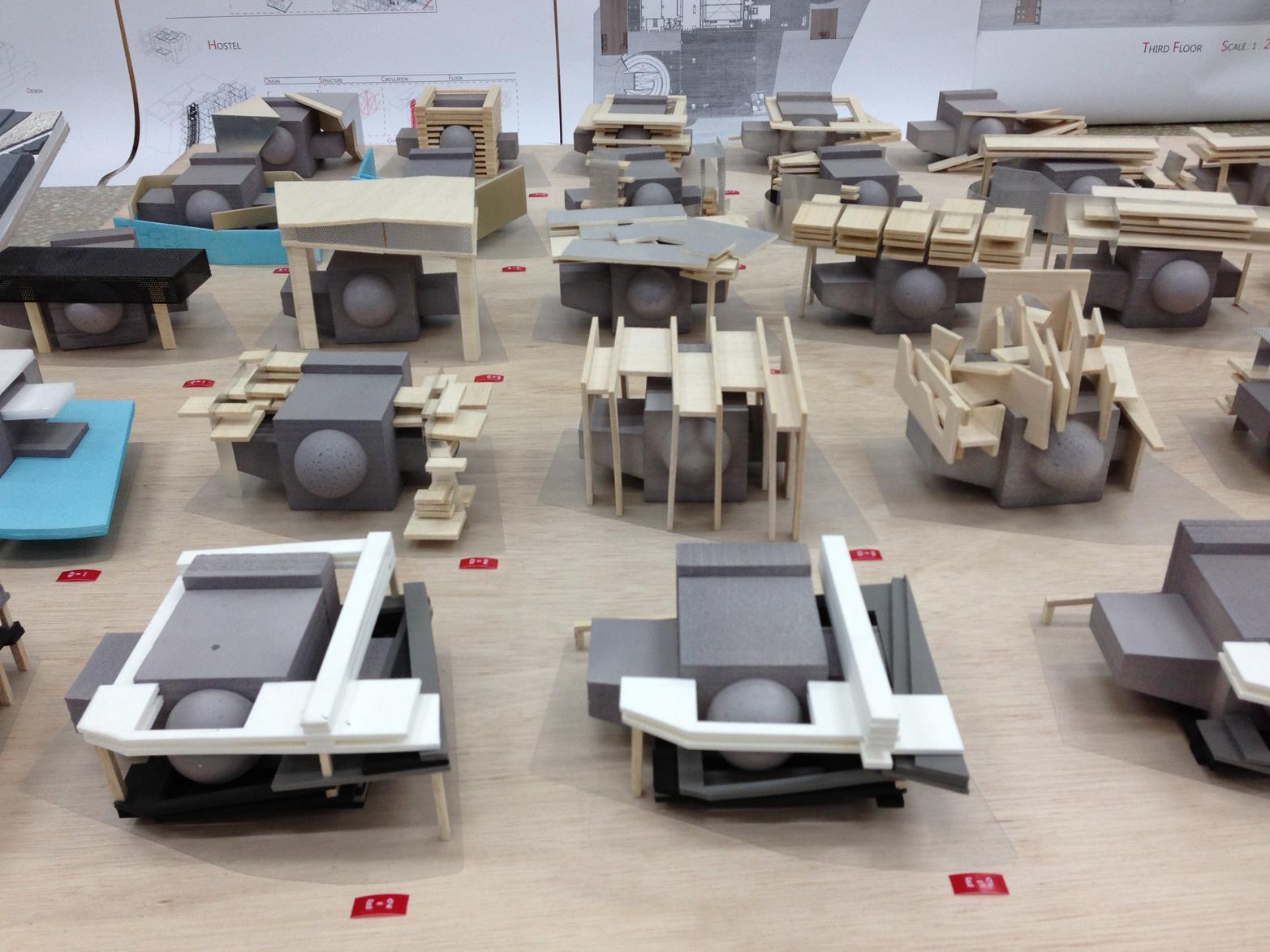 Architects make prototypes to explore many alternative form factors before deciding on a direction (photo courtesy of Flickr user Forgemind Archimedia)