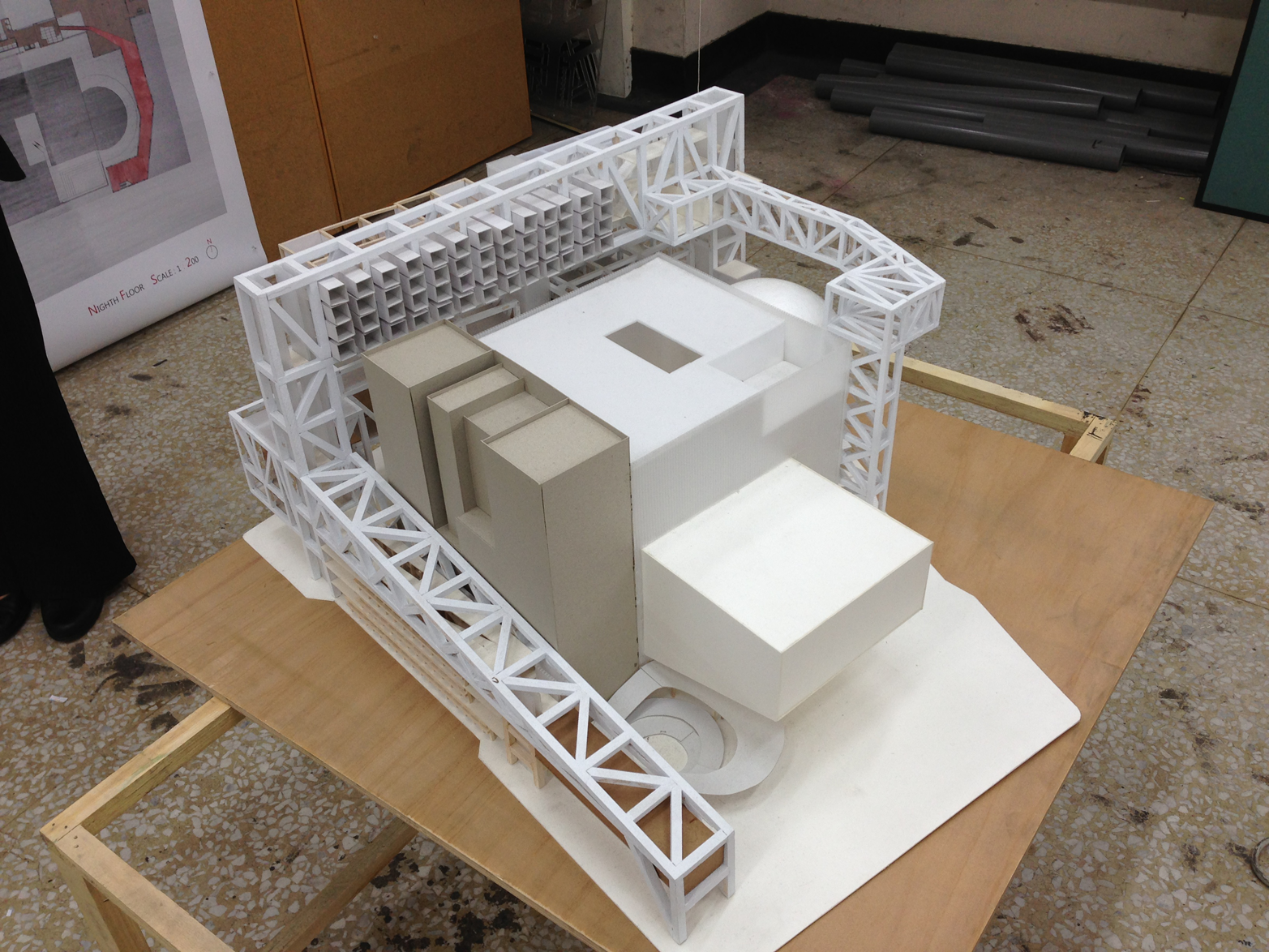 More complicated models allow architects to test air flow and daylight for their chosen form.