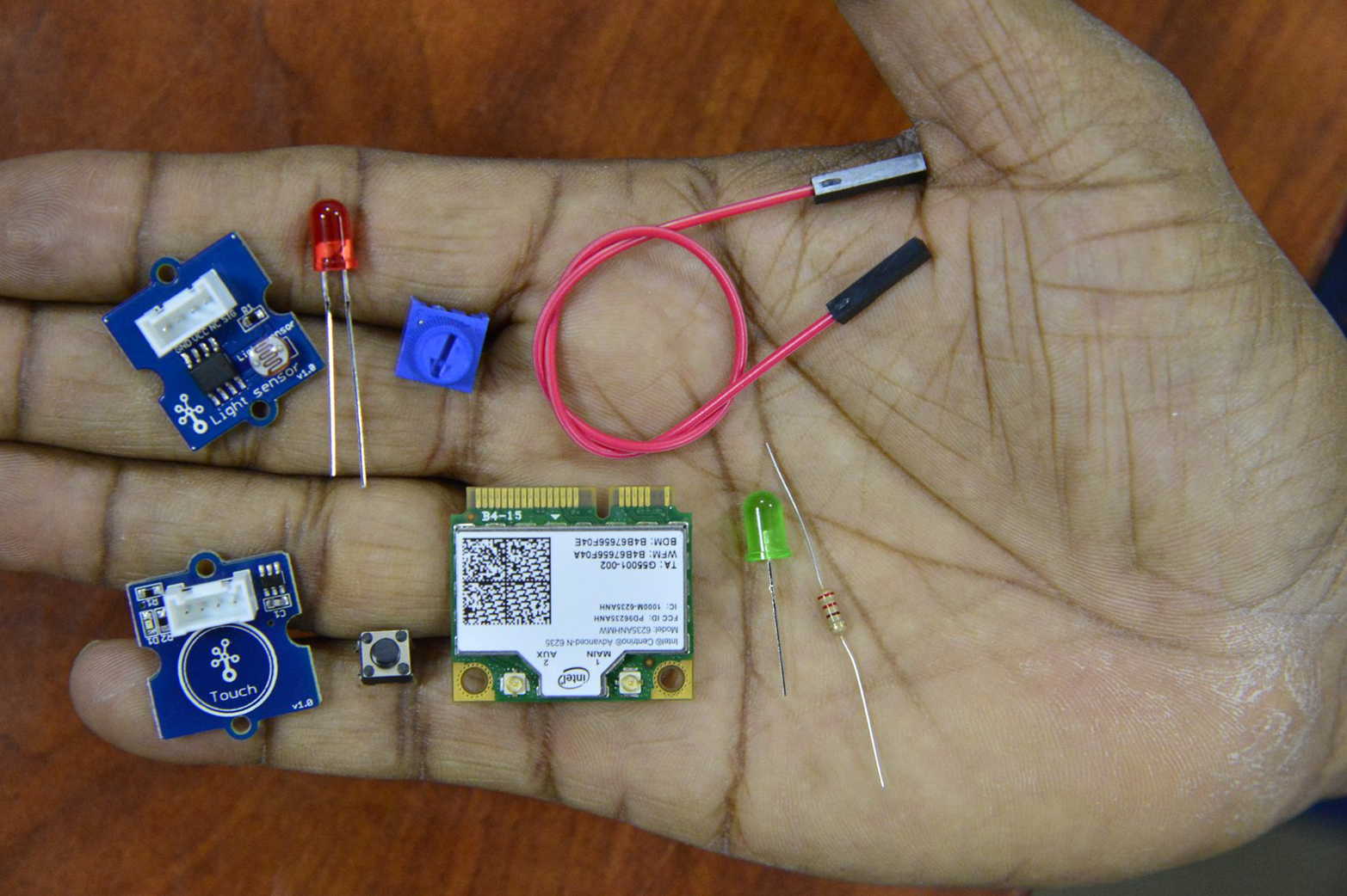 You'll need a variety of components to make your electrical prototypes (photo courtesy of Flickr user Intel Free Press)