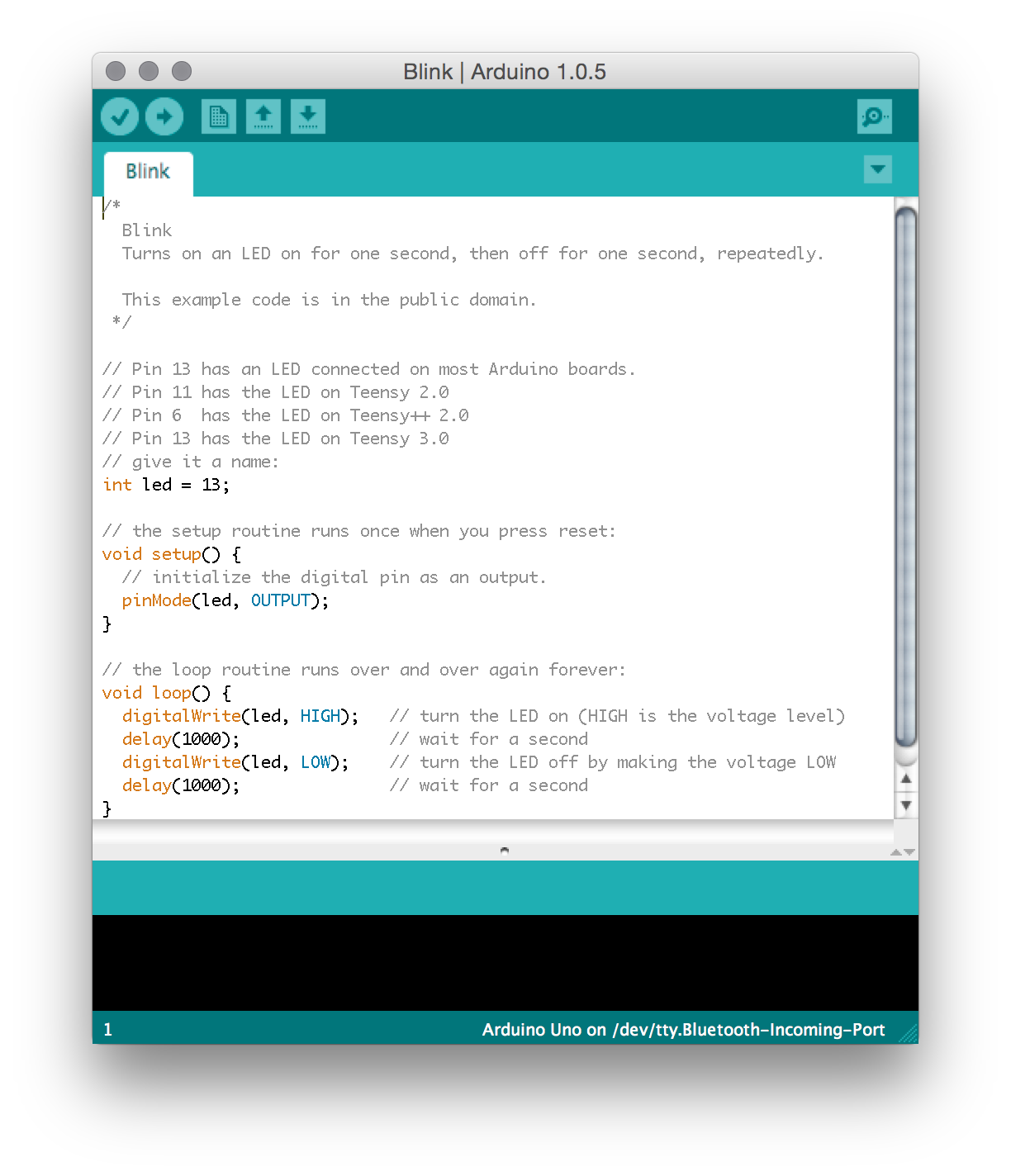 "In the Arduino software code is written in C and saved as ""sketches"