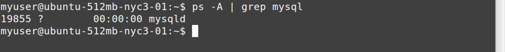 ps and grep commands